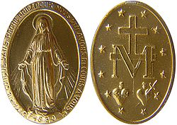 250px Miraculous medal